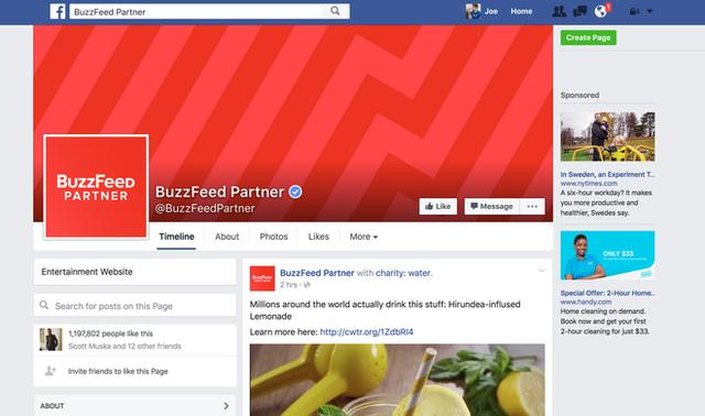 Rất nhiều trang mạng xã hội đã phát triển nhờ sáng tạo nội dung trên Facebook.