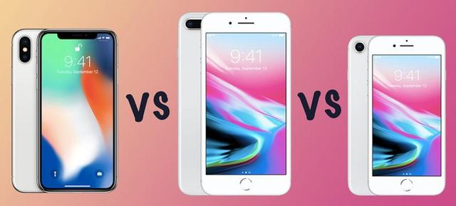 IPhone X, với màn hình rộng tương đương iPhone 8 Plus nhưng kích thước lại nhỏ hơn.