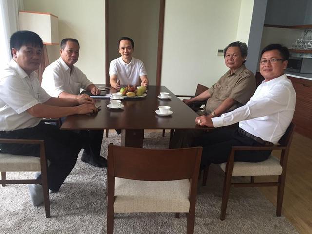 Dàn lãnh đạo công ty Trịnh Gia