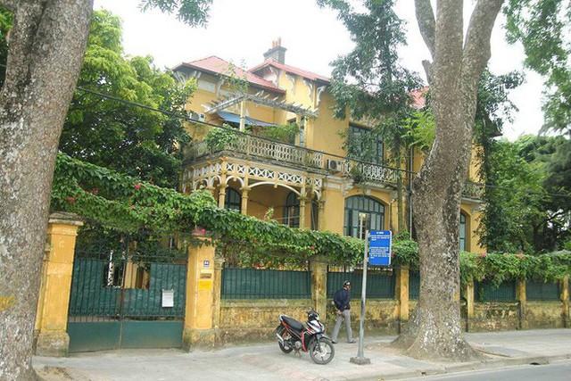 Ngôi nhà số 34 Hoàng Diệu của cụ Hoàng Thị Minh Hồ.