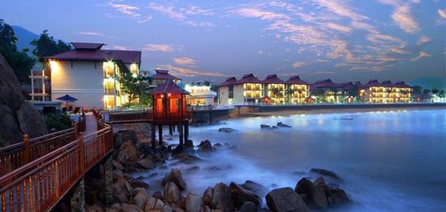 Resort Hoàng Gia Quy Nhơn do vợ ông Trần Bắc Hà làm chủ