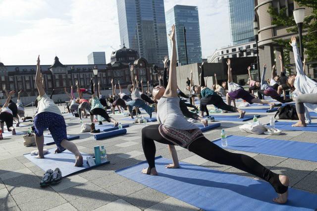 Tập thể thao nâng cao sức khỏe chính là châm ngôn sống của người Nhật Bản.