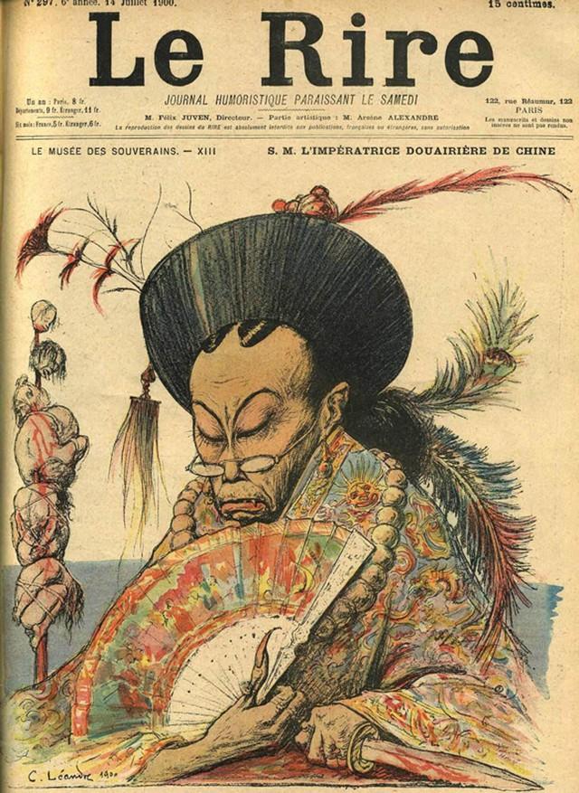 """Hình ảnh Từ Hi Thái Hậu trên tạp chí Pháp """"Le Rice"""" vào 14/7/1900."""