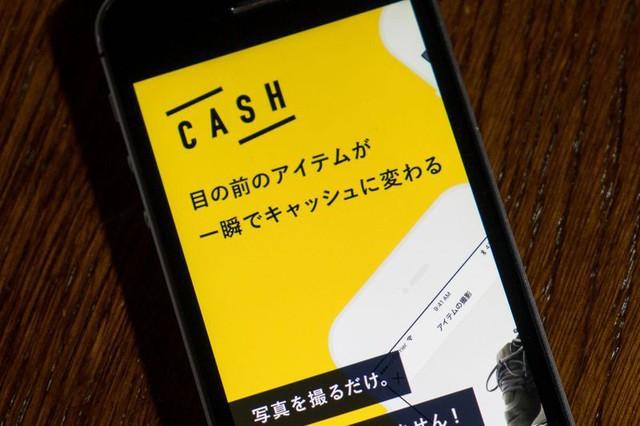 Ứng dụng chợ ảo Cash (Nguồn: Bloomberg).