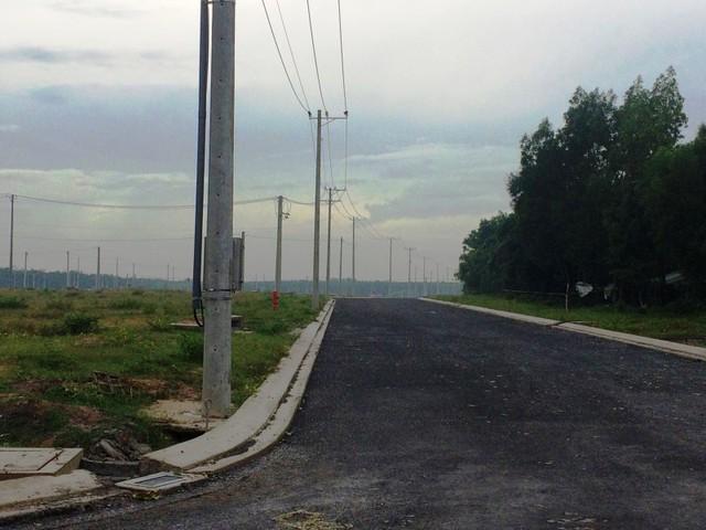 Khu tái định cư Lộc An - Bình Sơn đã hoàn thiện hệ thống đường giao thông, điện sẵn sàng triển khai xây dựng.