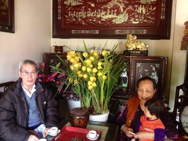 Cụ ông Trần Đại và cụ bà Trần Thị Vượng đã có quãng thời gian gần 60 năm chung sống.