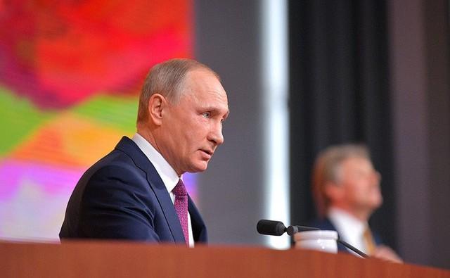 Ông Putin cho rằng phe đối lập ở Nga không có một chương trình thực sự để giải quyết các vấn đề của đất nước (Ảnh: Kremlin)