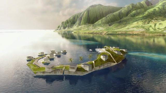 Thành phố nổi của Seasteading Institute sẽ nằm trên vùng biển của French. Theo kế hoạch thành phố sẽ được xây dựng vào năm 2020.