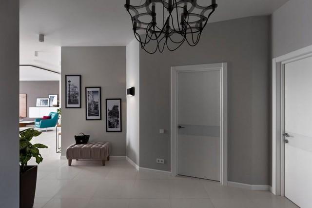 Nhờ diện tích khá lý tưởng nên việc thiết kế cũng như bố trí các không gian chức năng trong căn hộ này cũng trở nên dễ dàng hơn.