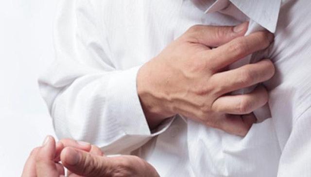 Đau thắt ngực dấu hiệu của nhồi máu cơ tim