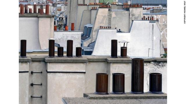 Paris Abstract là một cái nhìn khác về những tầng thượng ở thủ đô của Pháp
