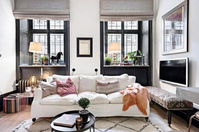 Trong căn hộ này, sự hiện đại, sang trọng và xu hướng đều được thể hiện qua các thiết kế khiến người xem phải trầm trồ thán phục vì sự kết hợp khéo léo này.