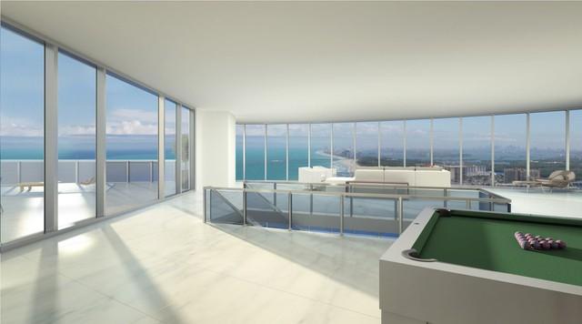 Tất cả các căn hộ ở đây đều có view nhìn ra biển tuyệt đẹp.