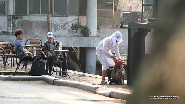 Video giả làm khủng bố ném bom từng được đăng lên kênh Monster NTN