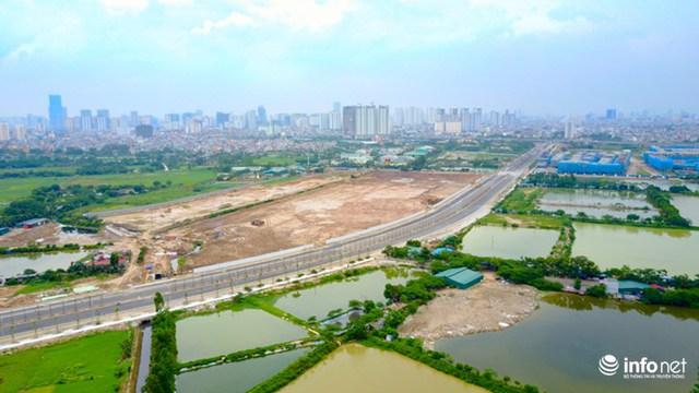 Tuyến đường đóng vai trò kết nối các phân khu chức năng, không chỉ giải quyết vấn đề giao thông đô thị mà còn thúc đẩy các dự án khác trong khu vực 3 quận Tây Nam Thủ đô.