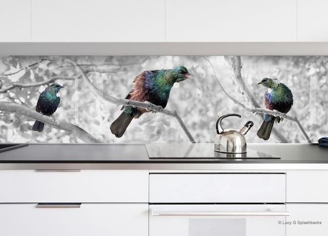 Vạn vật thiên nhiên như đang hiện hữu trong bếp của gia đình.
