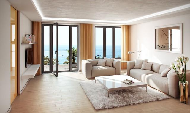 Trong khi đây các căn hộ cao tầng bé hơn có nội khu xe dễ làm thì mức giá rẻ hơn.