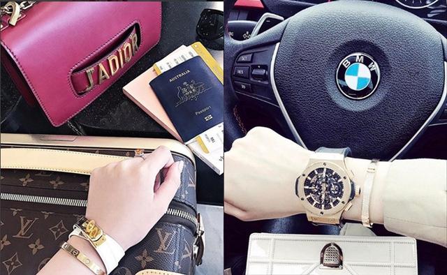 Mỗi lần đăng ảnh, Jolie lại khiến cư dân mạng phát ngất vì độ chất trong từng món đồ mà cô khoác lên người: phụ kiện Cartier, đồng hồ, vòng tay nạm kim cương tiền tỷ, siêu xe, túi xách có trị giá ngang 1 căn nhà.
