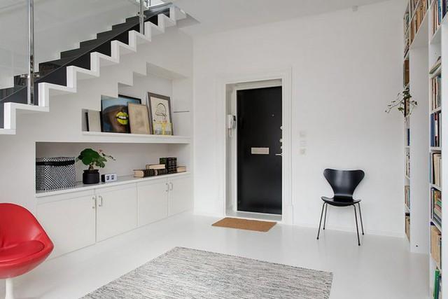 Khu vực tầng 1 là nơi cho dành riêng cho phòng ngủ, khu vệ sinh.