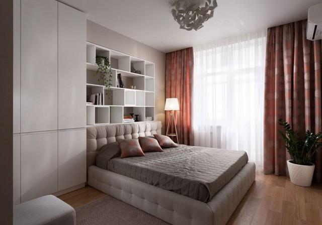 Căn hộ có tới 3 phòng ngủ riêng biệt. Trong mỗi phòng nội thất được thiết kế giản đơn với lối sắp xếp khoa học.