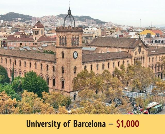 Tr?�a�?ng A�a??i ha�?c Barcelona cA? ma��c ha�?c phA� trung bA�nh 1.000$ ma��i nA?m.