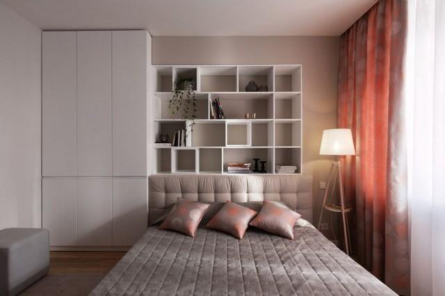 Các chi tiết được loại bỏ một cách triệt để, mang lại một không gian đơn giản nhưng tiện nghi và tinh tế.