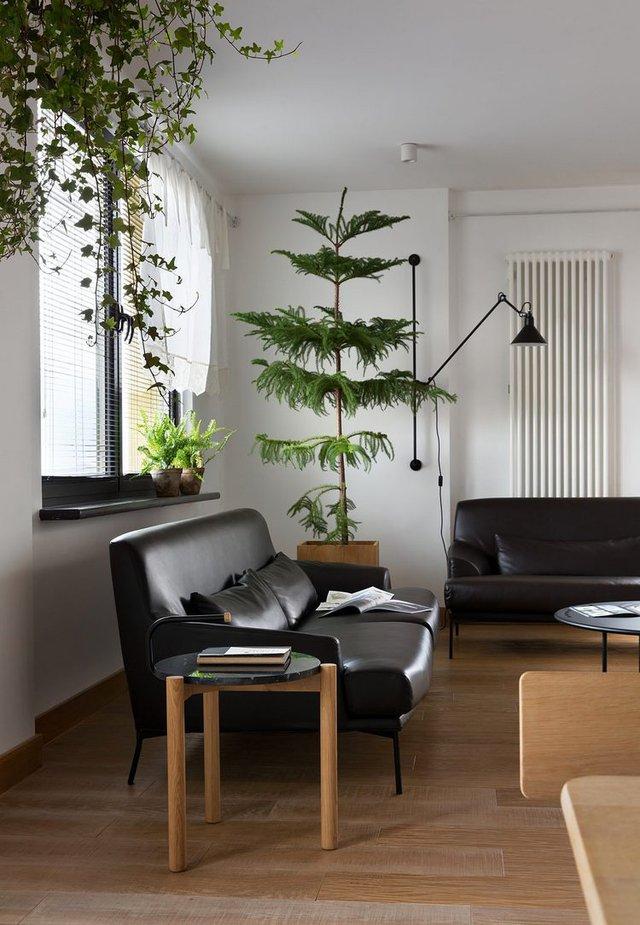 Phòng khách được dành riêng một không gian có diện tích lớn nhất trong nhà.