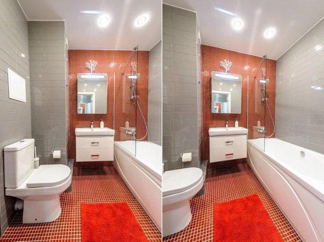 Bước vào nhà vệ sinh bạn sẽ còn ngạc nhiên hơn khi nơi đây được thiết kế vô cùng đặc biệt.