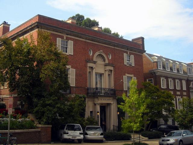 Căn nhà của Bezos tại Washington D.C.