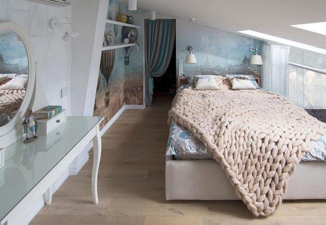 Một không gian nghỉ ngơi yên tĩnh và rất riêng tư cho chủ nhà.