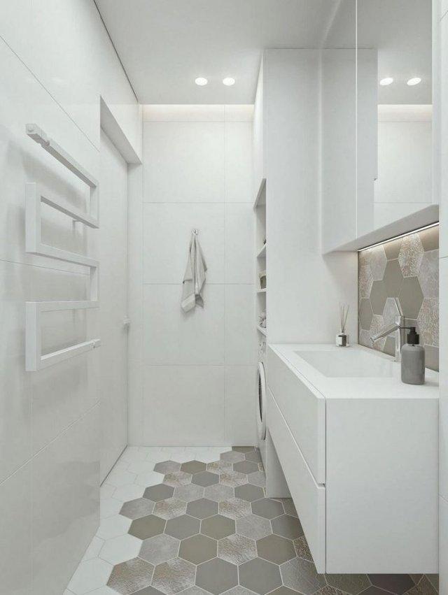 Không gian phòng ngủ cũng được tận dụng tối da để trữ đồ.