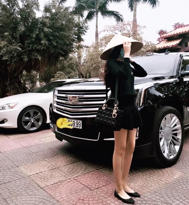 Tấm ảnh khiến Hoàng Kiều Yến thu hút sự chú ý sau khi xuất hiện trên Instagram của Hội con nhà giàu Việt Nam.