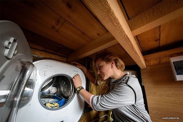 Không quá khó khăn cho mỗi lần giặt đồ của chủ nhà.