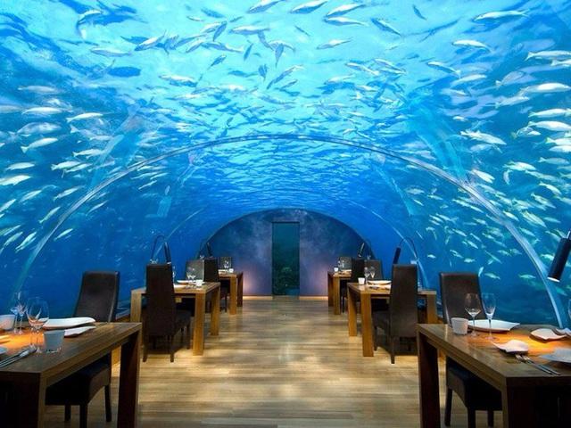 Nhà hàng Ithaa Undersea.