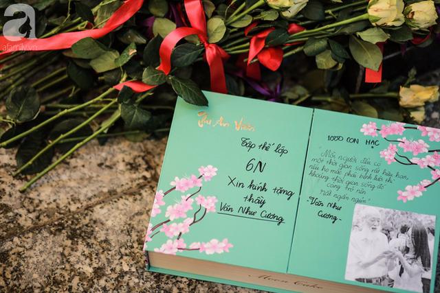 Những hình ảnh xúc động trong lễ tang nhà giáo Văn Như Cương - Ảnh 18.