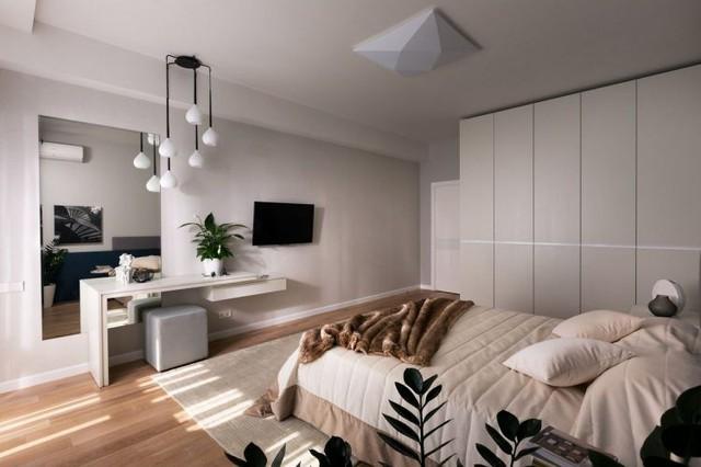 Cây xanh có mặt khắp căn phòng mang đến bầu không khí trong lành và dễ chịu cho chủ nhà.