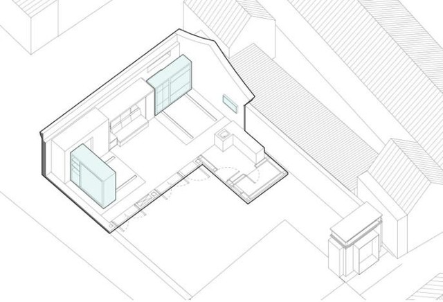 Với diện tích rất nhỏ nhưng ngôi nhà luôn biết biến hóa thần kỳ.