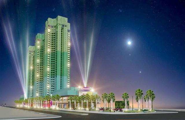 Phối cảnh trong tương lại của trung tâm thương mại Thuận Kiều Plaza sau khi được cải tạo.