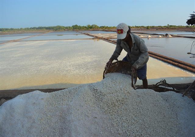 Phải quy hoạch lại làm muối chất lượng cao