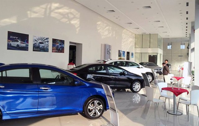 Rất nhiều đại lý phân phối ô tô là của các DN FDI (ảnh minh họa)
