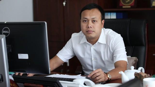 ĐBQH Phạm Quang Thanh tại cơ quan, trên cương vị Tổng giám đốc Tổng công ty Du lịch Hà Nội. Ảnh: Lê Anh Dũng