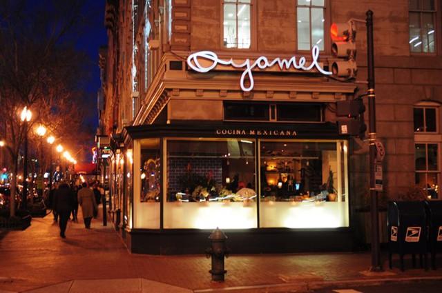 Nhà hàng Oyamel Cocina Mexicana là một trong những địa điểm yêu thích của cựu Tổng thống Obama. Ảnh: latin-e.com.