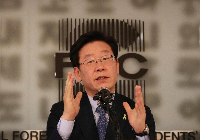 Thị trưởng thành phố Seongnam - Lee Jae-myung (Ảnh: AP Photo/Ahn Young-joon)