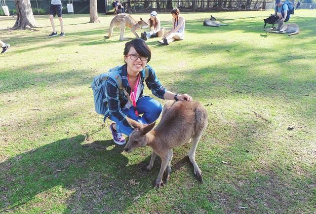 Những trải nghiệm khi ở Úc. Ảnh: NVCC
