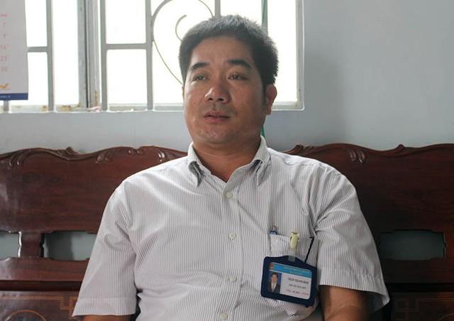 Ông Trần Thanh Bình – Phó chủ tịch UBND xã Vị Tân