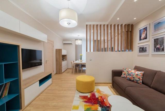 Một không gian vô cùng ấm áp và tiện nghi cho gia đình trẻ.
