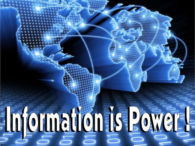 Thông tin là sức mạnh - câu nói vô cùng đúng trong thời đại ngày nay