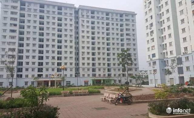 Khu tái định cư Thành phố giao lưu (Bắc Từ Liêm, Hà Nội) được đưa vào sử dụng từ năm 2014, nhưng đến nay vẫn rất thưa thớt người ở.