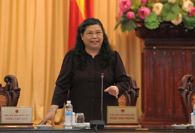 Phó Chủ tịch QH Tòng Thị Phóng