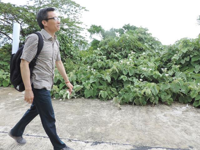 Phó thủ tướng đến quan sát Voọc chà vá chân nâu và vài điểm lân cận